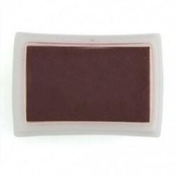 2X (barna tintapatron tintasugaras gumi bélyegző ujjlenyomat-készítő nem toxikus babafűrész V4Z1