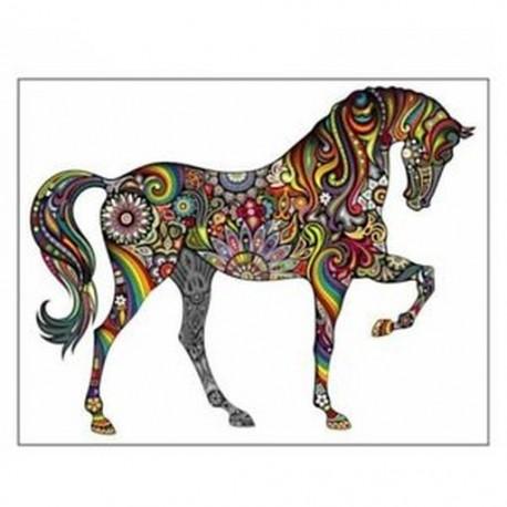 Ló nagy falikarcímke matrica hálószobába vagy nappaliba Y9O9