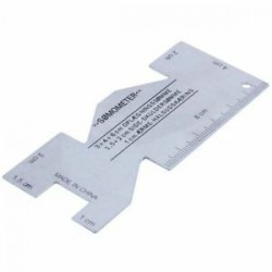 Fém-Somométer varráshoz használt steppelt vonalzó mérőeszköz a varráshoz A8H2