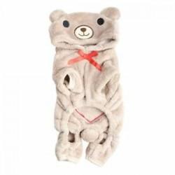 A medve kutya Kisállat kutya dzsekik világosbarna S Y2R5
