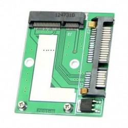 Mini ÚJ PCI-E félmagasság mSATA SSD - 7 mm 2,5 &quot -es SATA 22 pin merevlemez-meghajtó Q0O3