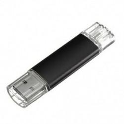 2 GB-os USB memóriakártya OTG mini USB Flash Drive mobil PC fekete Y1M8