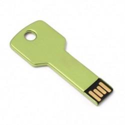 Fém USB flash memória meghajtó2GB G Stick toll hüvelykujj U lemez kulcs lánc Q9E2 D2D1