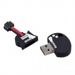16 GB-os újdonság, hűvös gitár stílusú, USB Flash Pen Drive memóriakártya, ajándék J4E1