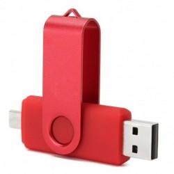 32 GB-os USB 2.0 forgatható flash memóriakártya, Pen Drive U-lemez OTG telefonos laptop Y6G4-hez