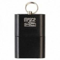 1X (Alumínium USB 2.0 hordozható memóriakártya-olvasó adapter Micro-SD / G4Y7 kártyahoz