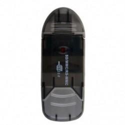 1X (SD MiniSD MMC T-Flash kulcs USB 2.0 kártyaolvasó (SD kártya és kártya adapter N5G9