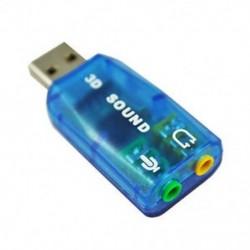 Új forró eladás Egyszerű Érzékeny Virtuális 5.1-surround USB 2.0 Külső hang C J0N6