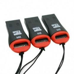 3 x USB 2.0 Micro SD kártya adapter olvasó író SDHC MMC Micro Sd 2528c P3W8