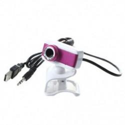 USB 2.0 HD webkamera 1080P minifonnal a számítógép asztali PC M4P3 laptopjához