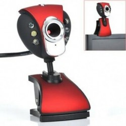 1X (Új USB 500 6-LED-es webkamera kamerakamera minitelefonnal az M1I2 PC laptophoz)