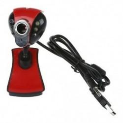1X (USB 2.0 50.0M 6 LED PC kamera HD 1080P webkamera mini-telefonnal a H7C9-hez