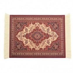 28x18 cm-es perzsa szőnyeges egérpad Retro stílusú szőnyeg mintás egérpad piros S1J1