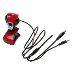 6 LED-es webkamera Kamera Webkamera Webkamera 20,0 M pixel   mikrofon Q4U1