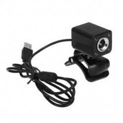 USB 8 megapixeles webkamera kamera   4LED fekete MIC az asztali laptop R1D7 számára