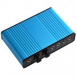 USB 6-csatornás 5.1-es külső hangkártya SPDIF J8L9