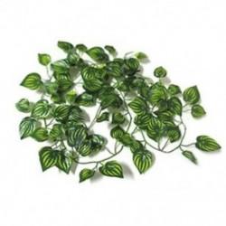 Kerti lakberendezés hamis növény zöld, borostyán lombozat Művirág G3O1 N5X1