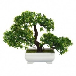 Mini üdvözlő fenyő növény, a fő bonsai dekoráció H6I7 művirágja
