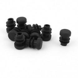 10 db műanyag 12 mm-es csővégvédő kupakok Bung Cső csőbetét kerek M1L4