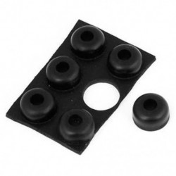 Bútor félgömb alakú 14mmx7mm öntapadós gumibetétek védőberendezése 6 in 1 BT A Q3T0