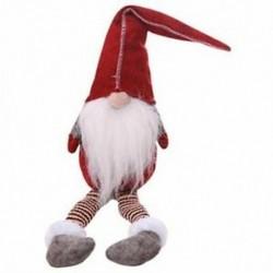 50cm karácsony öreg arc nélküli állványbabajáték-fesztivál újévi vacsora Par X4I8