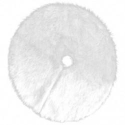 Fehér - Karácsonyfa szoknya - Karácsonyfatalp takaró - D3O0