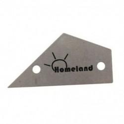 Homeland Fret Rocker rozsdamentes acél készítők Hangcsillapítók Fret Finder gitár Lut B5E8