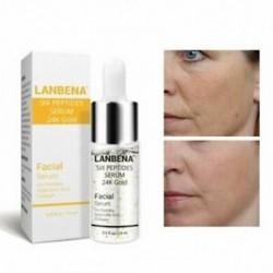 LANBENA 24K arany hat peptid szérum arckrém öregedésgátló ránctalanító cég I7Z8