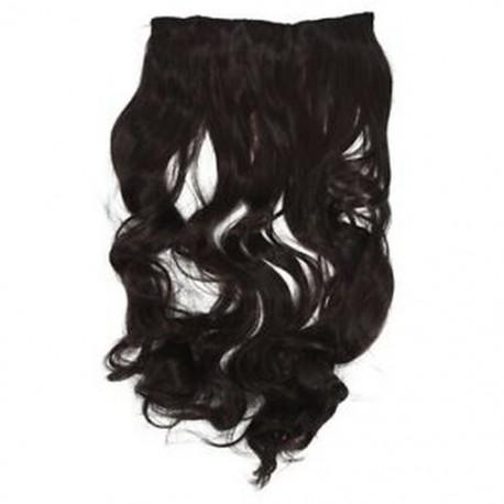 Szexi hosszú, gyönyörű, hosszú göndör, göndör hullámos hajhosszabbítás, C-on női party Bal A7F6