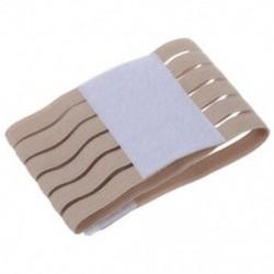 Szintetikus gumi karkötő elasztikus pamutszálat bézs csuklójú sport Q9I6 O2O0
