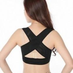 Női nők Állítható váll hátsó testtartás-javító mellkasi melltartó P8G7