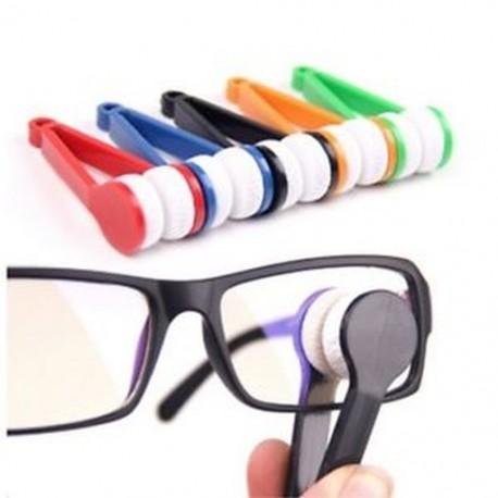 5 darabos mini napszemüveg szemüveg minifiber szemüveg tisztító puha kefe Y4Q5