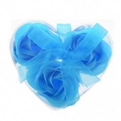 3 db rózsaszínű baba kék fürdő szappan szívdoboz L9W3