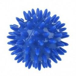 1 db Spikey masszázsgömb puha, tenyérlábbal felkaros nyakig vissza, kék, 5.5cm J6G9