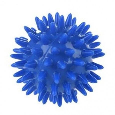 1 db Spikey masszázsgömb puha, tenyérlábbal rendelkező kar nyakához vissza kék, 5.5cm V5E8