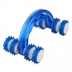 Kézi test-cellulit-ellenőrző Egészségügyi szépséggörgő masszírozó kék K4G5