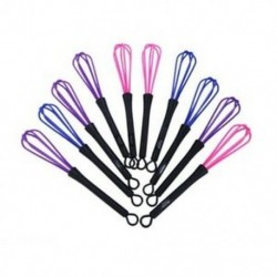 10db műanyag szalon fodrász fodrászat hajfesték-krém keverő eszközök Wh X7Z1
