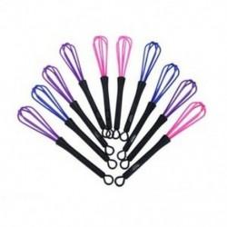 1X (10db műanyag szalon fodrász fodrászat hajfesték krém keverő eszközök F2C2