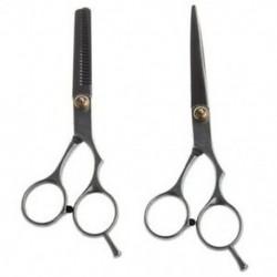 2 X professzionális hajvágó és -vágó olló olló fodrászkészlet O7G5