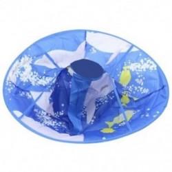 2X (Gyerek fodrász fodrász hajvágó sapka kék köpeny ruhával kötény K8Q0-hoz
