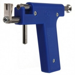 2X (Pro acél fül-orr köldök testfúrópisztoly szerszámkészlet 98 db eszköz Stu L1W7