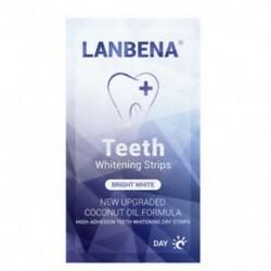 8X (Lanbena napi bambusz faszén javító fogfehérítő fogak fogak eltávolításához S9A2