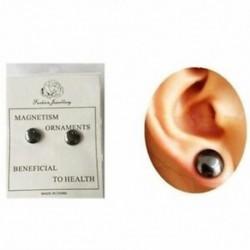 1X (Egészséges, stimuláló akupontok fülbevalók, ékszermágnesek, Slimmin Q8F7