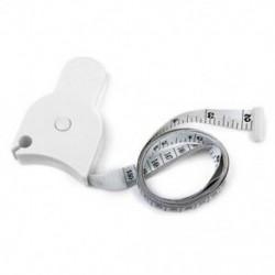 Testmérő szalag a derék diéta mérésére Fogyás Fitness Health B3I1