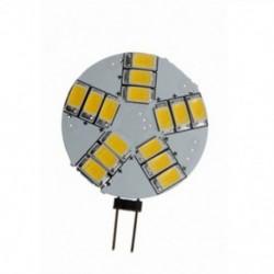 G4 4W 15 LED 5630-SMD meleg fehér fény DC / AC 12V Q1C1