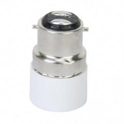 2X (B22 – E14 csavaros LED izzó foglalat adapter átalakító U6H3)