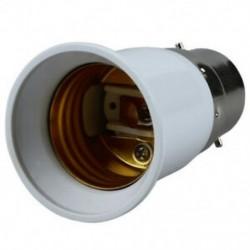 E27 - B22 adapter izzó, fehér D7U4