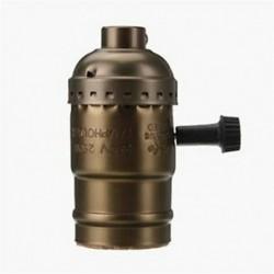 Edison Vintage lámpatartó aljzattartó adapter E27 Csavar izzók - Q7E8-hoz megfelelő