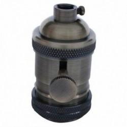 E27 ES Vintage Retro Edison csavar izzó foglalat lámpatartó lámpa kapcsolóval G2K1