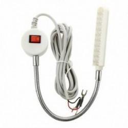 20 LED 220V varrógép munkavilágító lámpa Mágneses típusú LED lámpa H7L9